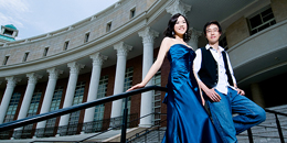 wedding gown picture --- Asia University