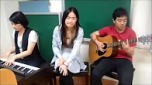 New song creation --- 日出之後 (by international students from Asia University)