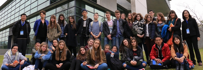 2016-03-11_French students visit AU Museum